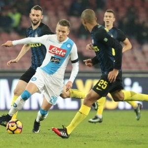 Le pagelle di Napoli-Inter: Zielinski dominatore, Perisic non pervenuto