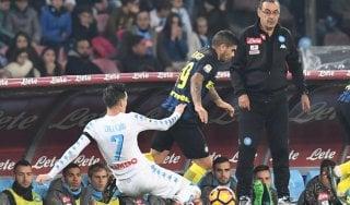 Napoli, Sarri: ''Ho visto la squadra più cattiva, pronti per il Benfica''