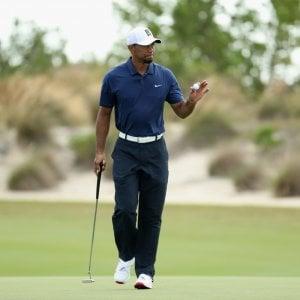 Golf, World Challenge: Woods rimonta, in vetta il duo Johnson-Matsuyama