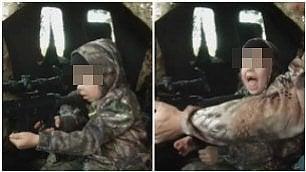 A 7 anni uccide il suo primo cervo Lo stupore della bimba è un caso