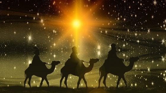 La Stella Di Natale Poesia.La Cometa Di Betlemme Una Congiunzione Planetaria La Stella Di