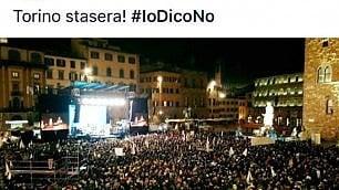 I 5 Stelle di Livorno su Facebook: Torino stasera, ma la foto è di piazza della Signoria