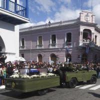 Cuba, le ceneri di Fidel Castro a Santiago