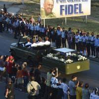 Santiago de Cuba, l'ultimo saluto a Fidel Castro: il fotoracconto