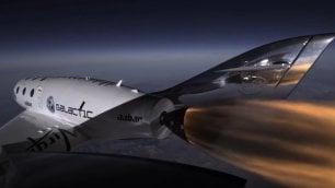Ecco la navetta di sir Branson che ci porterà nello spazio