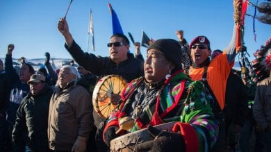 Usa, vittoria della protesta dei Sioux:  bloccato l'oleodotto in Nord Dakota   Foto