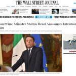 Referendum, Renzi