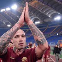 Roma, festa derby con 3000 tifosi. Nainggolan:
