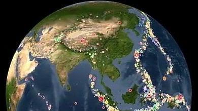 Terremoti 2001-2015 in 3'   video   la mappa delle scosse sulla Terra