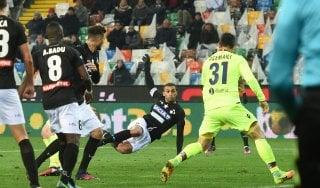 Udinese-Bologna 1-0, Danilo stende i felsinei al 93'