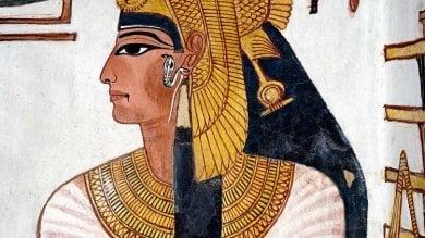 La mummia della regina Nefertari  scoperta al Museo Egizio di Torino   foto