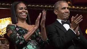 """""""Il vestito è un messaggio a Renzi""""   Il significato dell'abito di Michelle"""