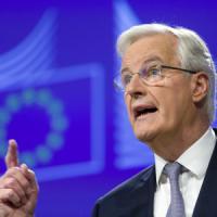 """Brexit, il negoziatore della Ue Barnier: """"18 mesi per l'uscita della Gran Bretagna"""""""