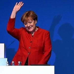 Germania verso elezioni 2017, Merkel rieletta alla guida della Cdu con l'89,5% dei voti