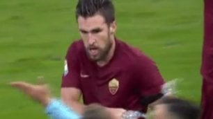 Prova tv, due turni  a Strootman   video   salterà Milan e Juve