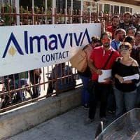 Almaviva ritira la proposta di accordo dopo il no dei sindacati