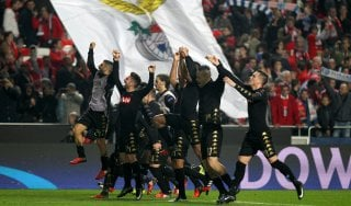 Benfica-Napoli 1-2, azzurri agli ottavi da primi del girone