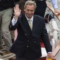 """Nigel Farage: """"Il voto italiano è stato un bazooka contro l'Europa"""""""
