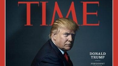 """Trump persona dell'anno secondo Time """"Presidente degli Stati Divisi d'America"""""""