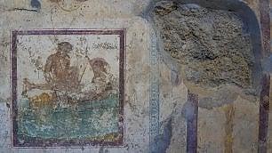 Pompei, riaperte le nuove domus con affreschi erotici nel lupanare