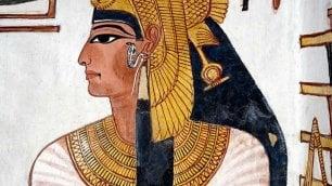 La mummia della regina Nefertari  scoperta al Museo Egizio di Torino