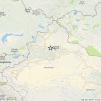 Cina, sisma del 6,2 nel nord del Paese