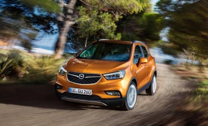 Mokka X, show hi-tech di Opel