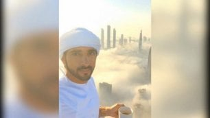 Un caffè con vista sulle nuvole L'affaccio da sogno dello sceicco
