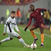 Astra Giurgiu-Roma 0-0, i giallorossi non pungono. Brutti cori durante il