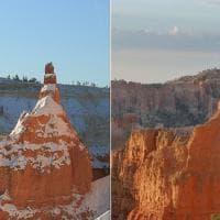 Usa. Crolla la Sentinella, icona del Bryce Canyon