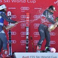 Sci, Goggia seconda al Sestriere: festa sul podio
