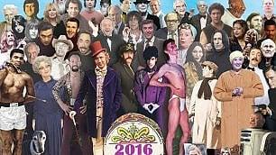 Sulla copertina di Sgt. Pepper's tutte le celebrità morte nel 2016