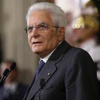Crisi governo, Mattarella: