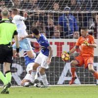 Sampdoria-Lazio 1-2, Milinkovic e Parolo rialzano i biancocelesti