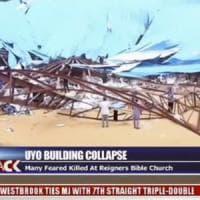 Collassa tetto di una chiesa in Nigeria, è una strage: i morti sono 160