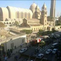Egitto, 20 morti al Cairo in esplosione vicino cattedrale copta
