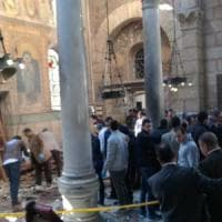 Egitto, attentato al Cairo in edificio della cattedrale copta: 25 morti,