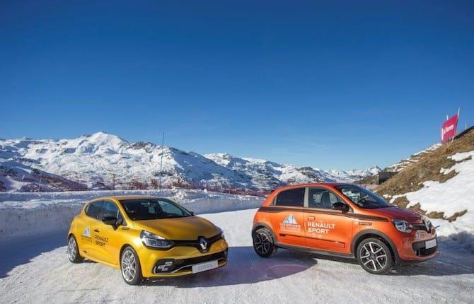 Renault sport, partnership da brivido al Val Thorens