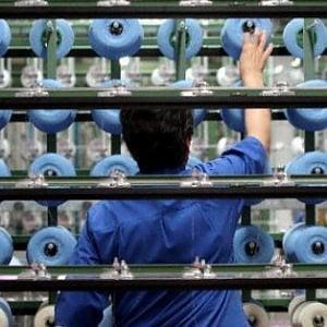 """L'Istat: la produzione industriale è """"piatta"""" a ottobre rispetto a settembre"""