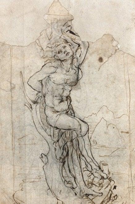 Il Leonardo ritrovato: uno schizzo di San Sebastiano che vale 15 milioni