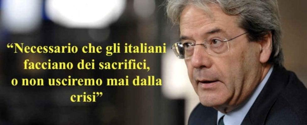 """Lotta politica a colpi di bufale. Il caso Gentiloni: mai detto ''italiani fate sacrifici, non lamentatevi"""""""