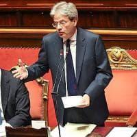 Governo Gentiloni, fiducia al Senato con 169