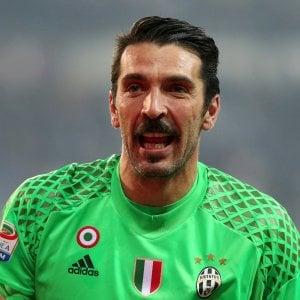 Juventus, Buffon: ''Roma da scudetto, Totti sempre più forte''