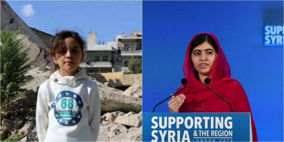"""Siria, l'appello di Malala: """"Salviamo i bambini di Aleppo, siamo noi che facciamo la Storia"""""""