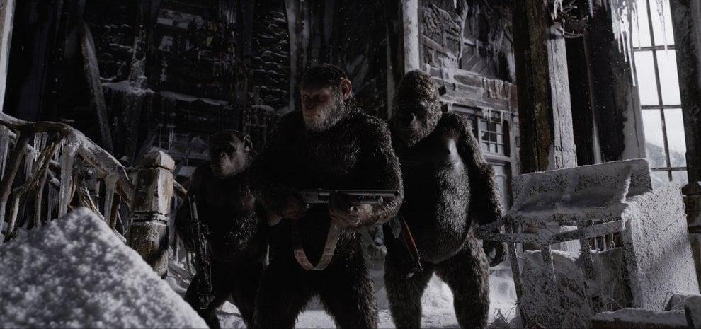 'War - Il pianeta delle scimmie', l'ultima battaglia. La resa dei conti è come un western