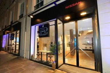 Nissan Electric Café valorizza l'energia