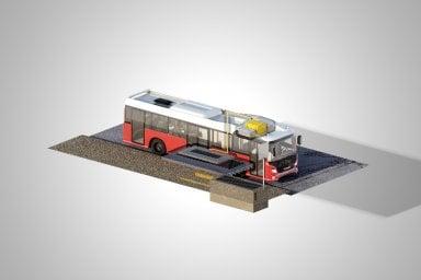 L'autobus del futuro? E' ibrido-elettrico e si ricarica in wireless in pochi minuti