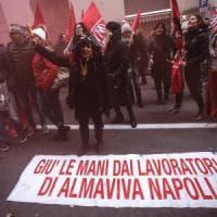 Almaviva, il lodo del governo respinto da azienda e sindacati: trattativa a oltranza