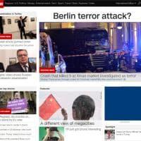 Camion sulla folla a Berlino, la notizia sui siti stranieri