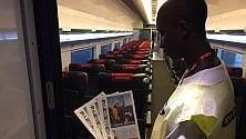 Il treno alta velocità con le notizie  dell'Italia migliore:  il progetto social  che dà lavoro  a ragazzi in difficoltà   di BEATRICE DEROSA